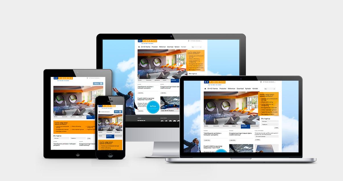 KE-Fibertec website