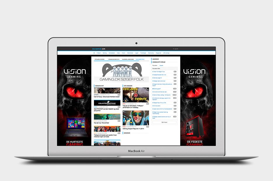 Vision Gaming banner