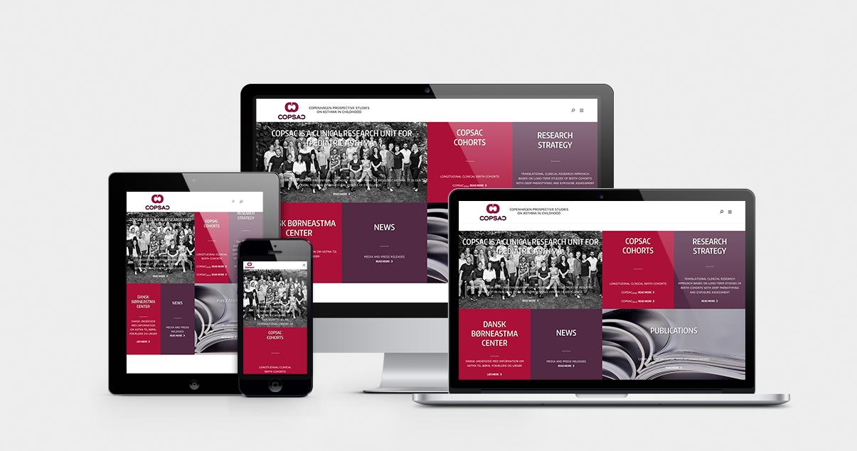 nyt website til COPSAC